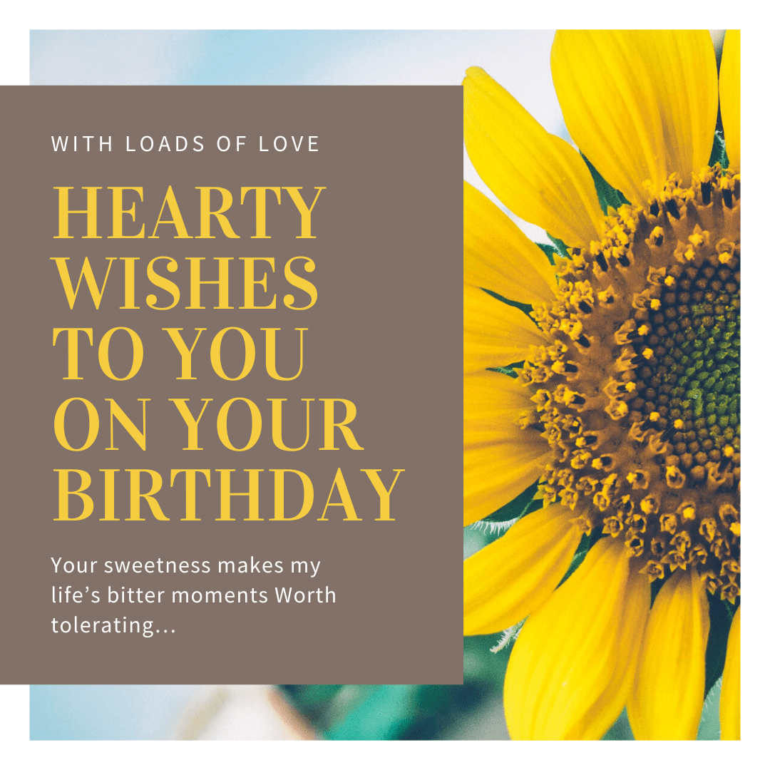 birthday wish!