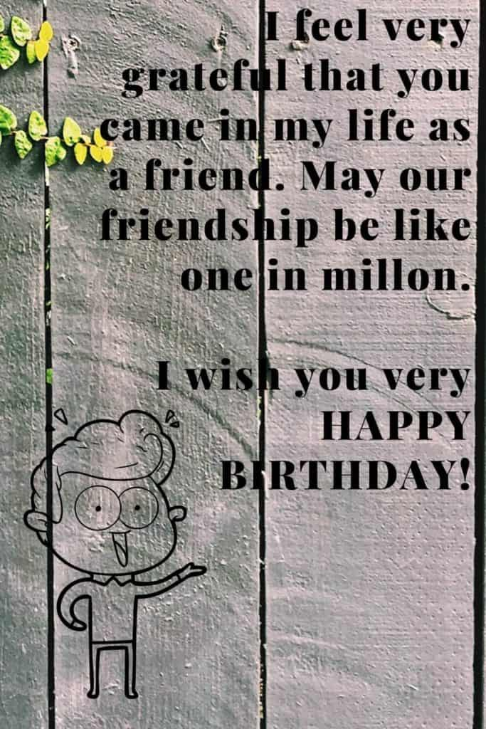 birthday wish for friend