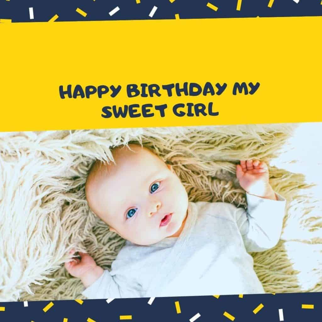 cute birthday wishes daughter