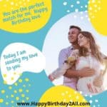 Birthday Wishes for Fiancée & Fiancé, Romantic Bday Wishes