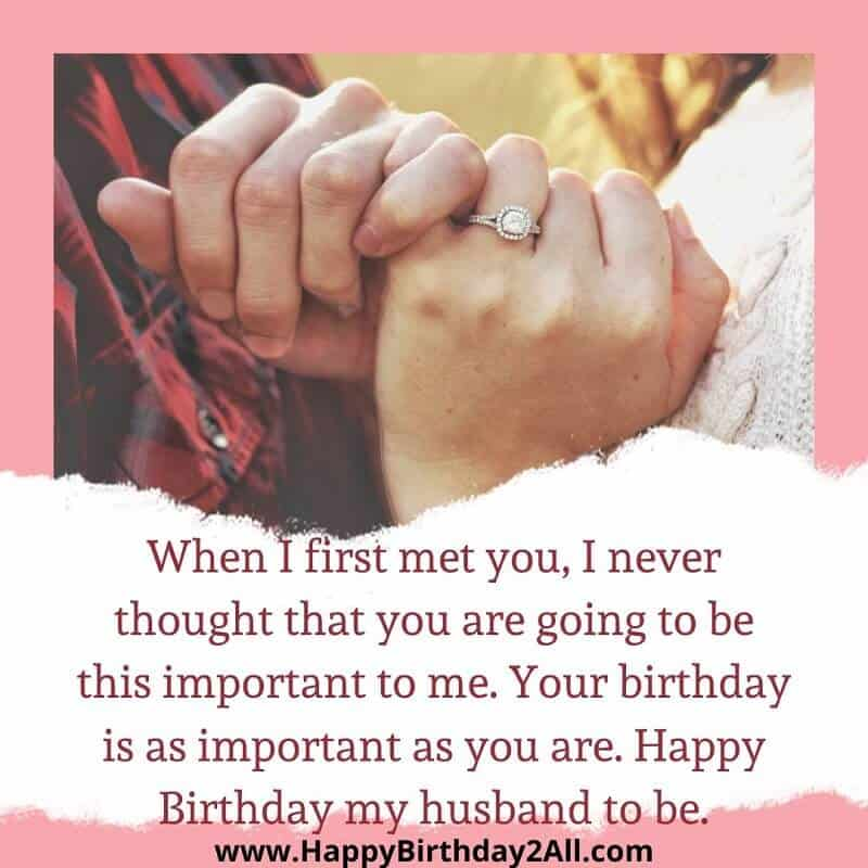 love you bday fiance