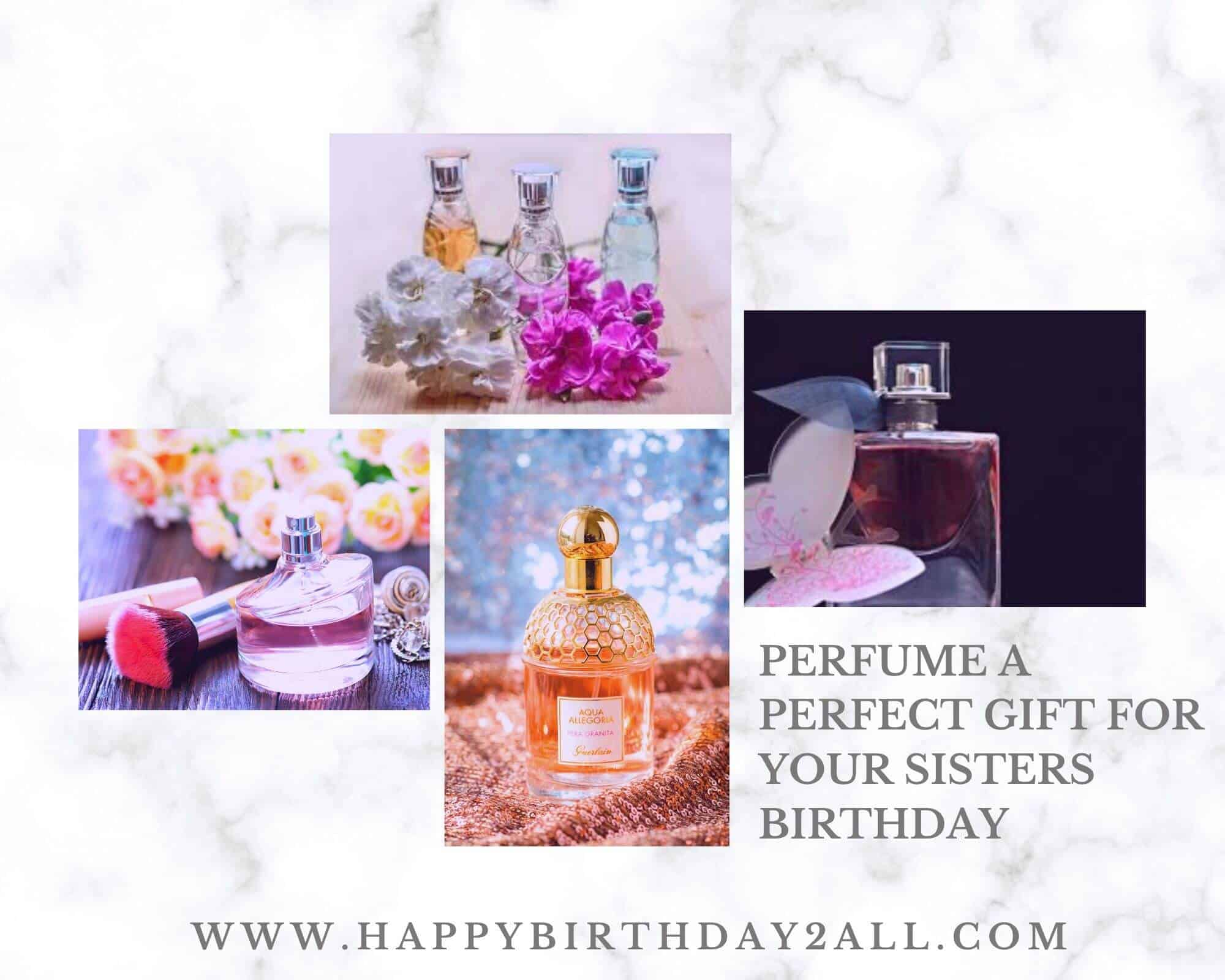 perfume birthday gift for sister