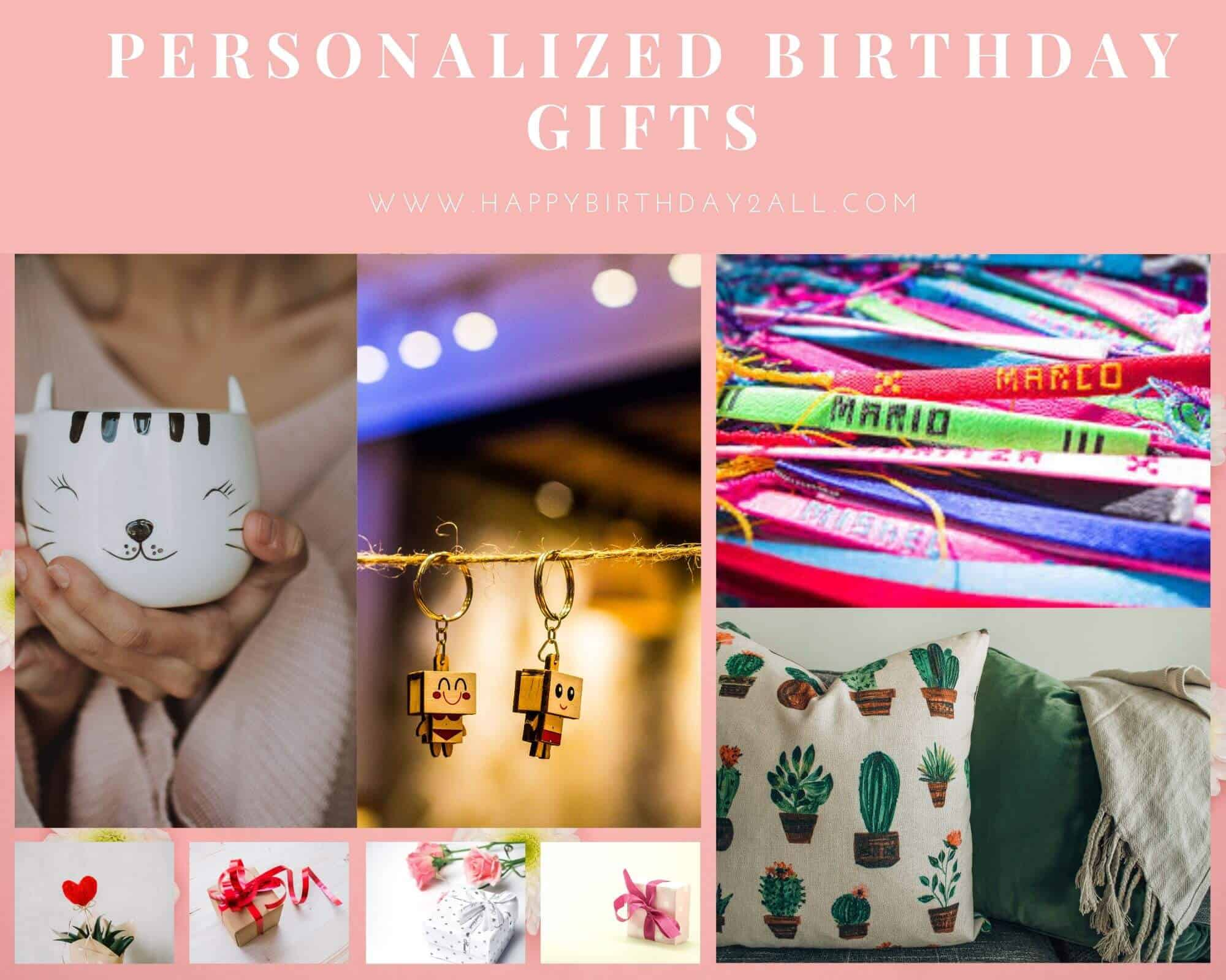 personalized birthday gifts for sister