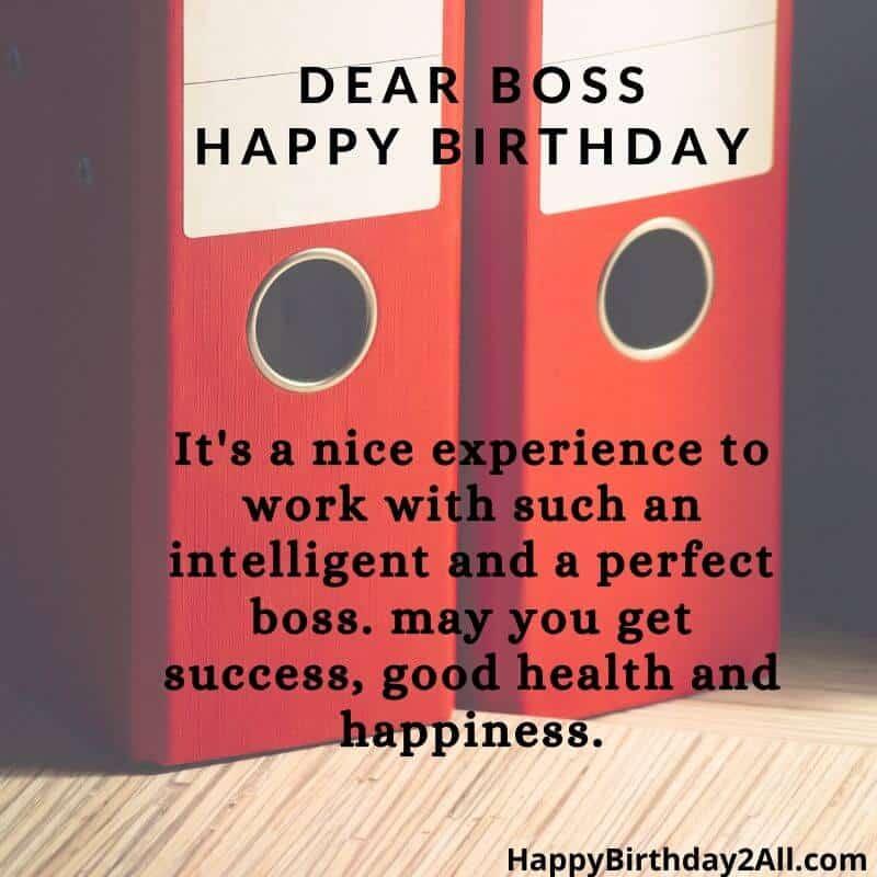 Birthday wishes for teamleader