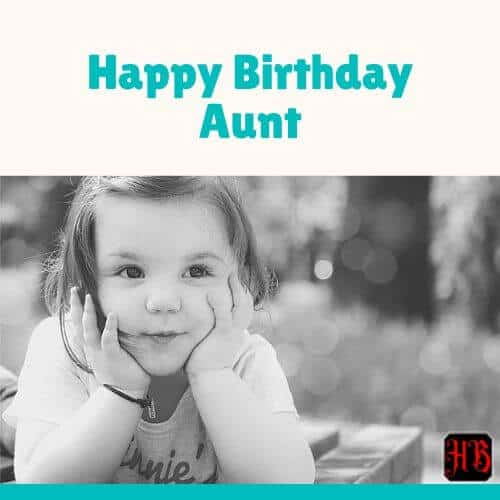 Happy Birthday Dear Auntie