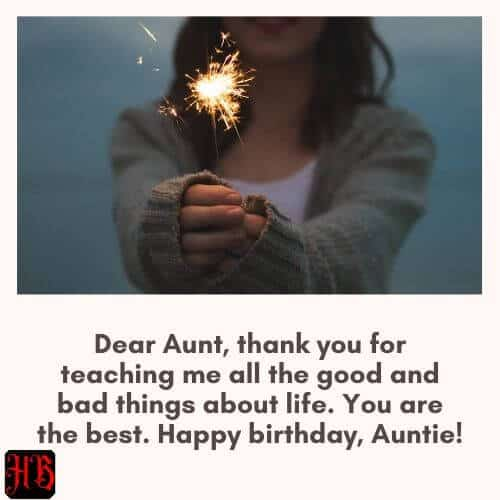 wishing happy birthday to aunt