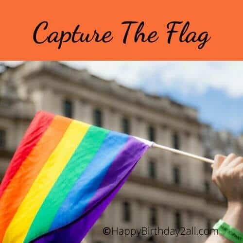 CAPTURE THE FLAG birthday game