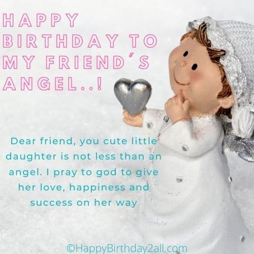 birthday wishes for friends child