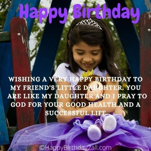 Birthday Wishes For Friends Daughter Bday Quotes Greetings
