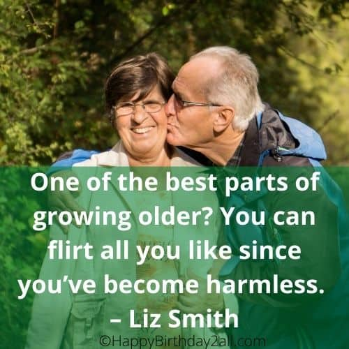 growing older quote by Liz Smith