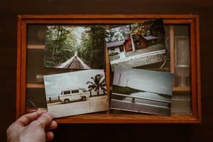 revisit photo albums on your birthday