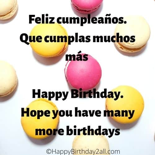 How To Say Happy Birthday In Spanish Bday Wishes In Spanish