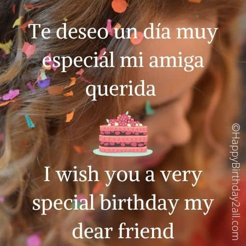 happy birthday greeting in spanish