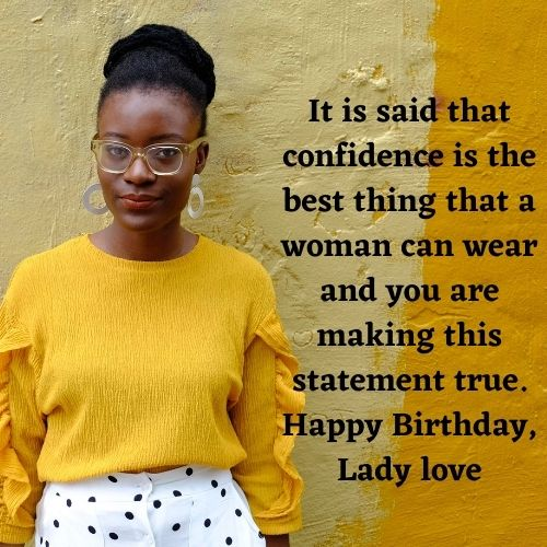 birthday messages for black woman