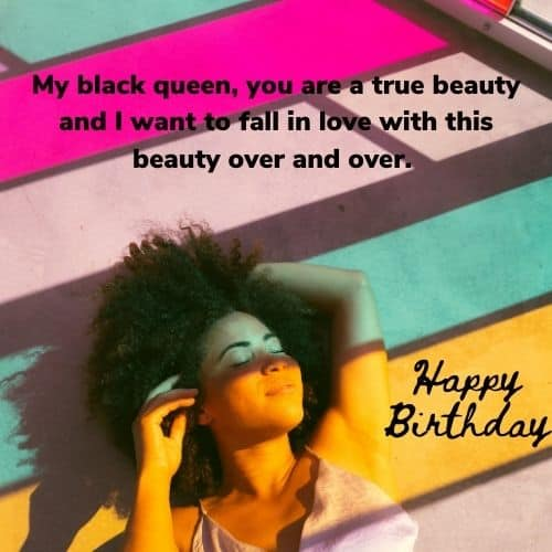 birthday quote for black woman