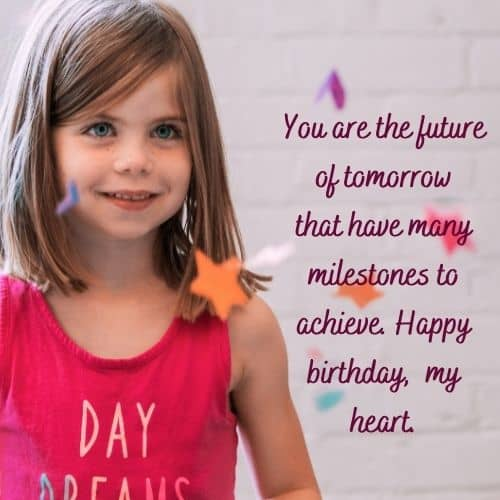 birthday wishes for my 2-year old daughter