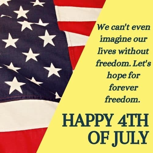 happy 4th of july independence day messages