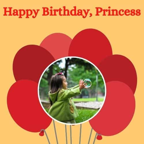 birthday wishes for princess