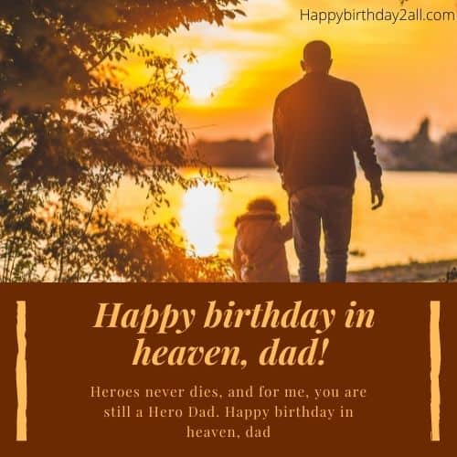 birthday wishes for deceased dad