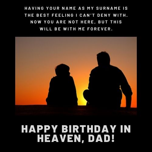happy birthday father in heaven