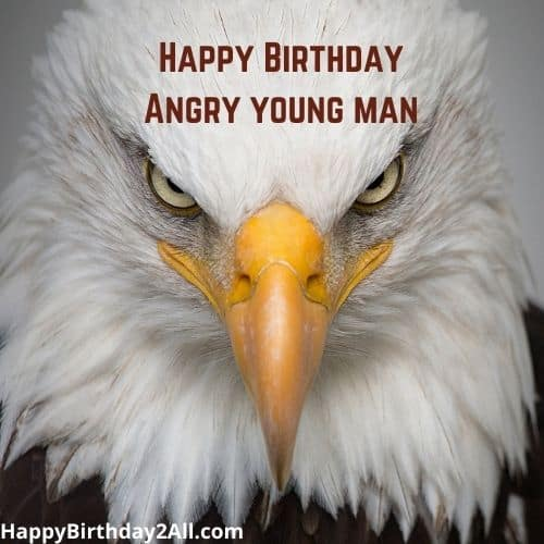 Happy Birthday Angry Young Man
