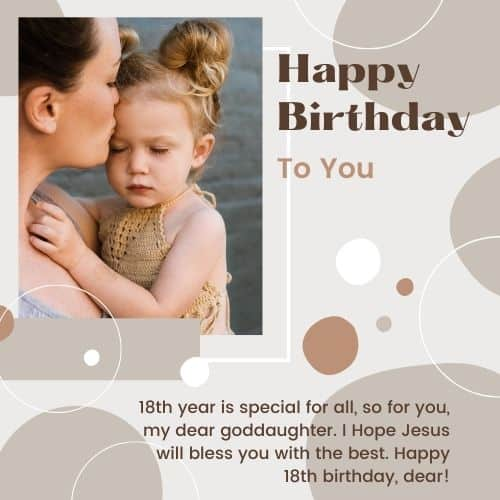 birthday messages for dear goddaughter