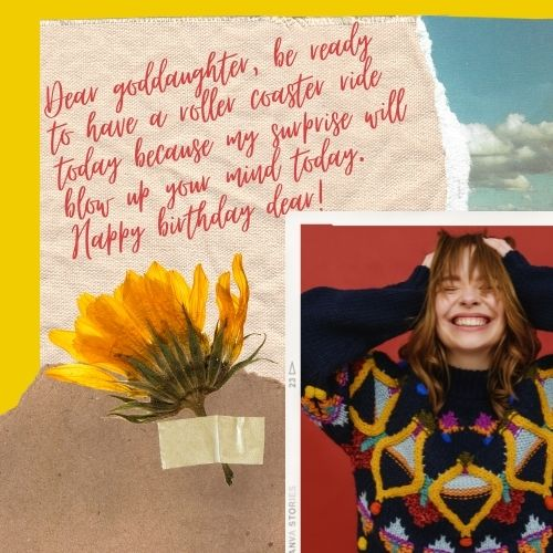 birthday messages for goddaughter